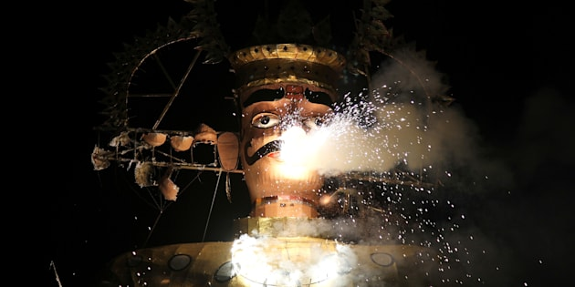 Dussehra celebrated in Kashmir