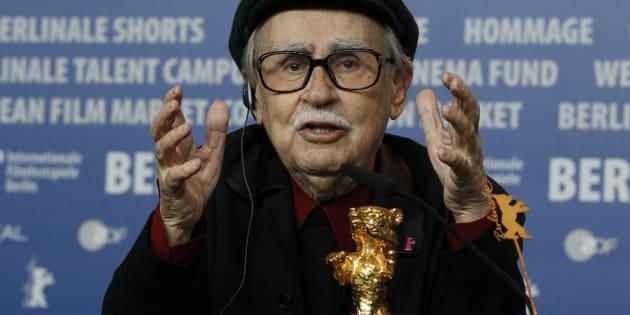 Vittorio Taviani à la Berlinale en 2012.