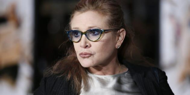 L'autopsie du corps de Carrie Fisher révèle la présence d'un cocktail de drogues dures