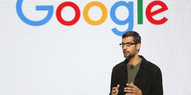 Google CEO Sundar Pichai speaks during the presentation of new Google hardware in San Francisco, California, U.S. October 4, 2016.   REUTERS/Beck Diefenbach