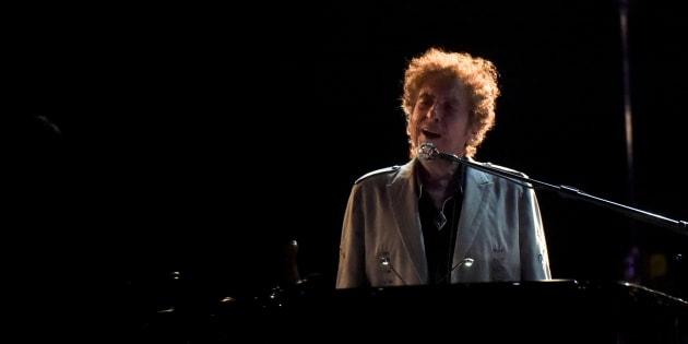 Bob Dylan durant le festival Firefly Music à Dover au Delawareen juin 2017.
