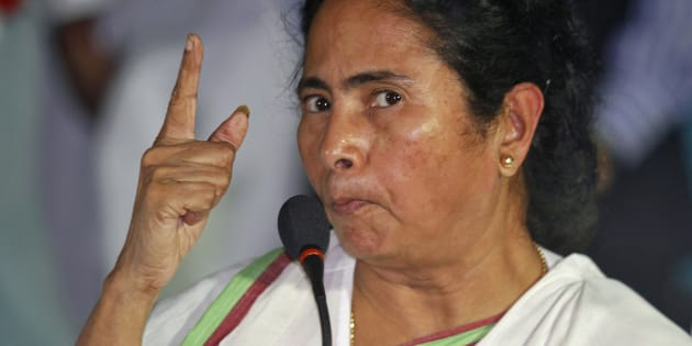 File photo of Mamata Banerjee, Chief Minister of India's eastern state of West Bengal.