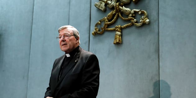 Cardinal George Pell attends a news conference at the Vatican, June 29, 2017. REUTERS/Remo Casilli