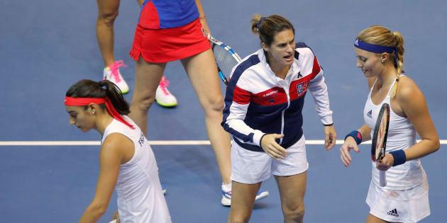 Amélie Mauresmo, enceinte, quitte son poste de capitaine de l'équipe de France de Fed Cup