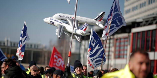 Grève à Air France, 75% des vols seront assurés selon la compagnie