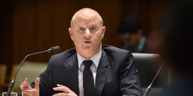 Commonwealth Bank CEO Ian Narev.