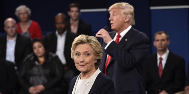 Hillary Clinton ne doit pas seulement gagner le 3e débat face à Donald Trump mais remporter une victoire écrasante. (Photo: les deux candidats à la présidentielle américaine lors du second débat)
