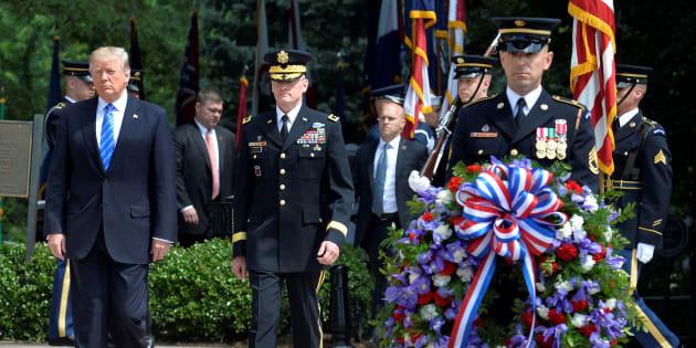 Scandale Trump à la veuve d'un soldat :