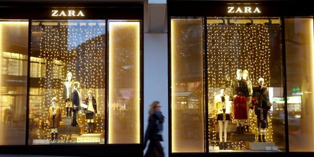 Un establecimiento de la cadena de tiendas de ropa Zara, del grupo Inditex, en Zurich (Suiza).