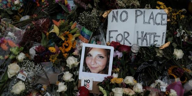 A ativista Heather Heyer, de 32 anos, foi atropelada por um dos membros do grupo de supremacistas, James Alex Fields, de 20 anos, neste sábado.