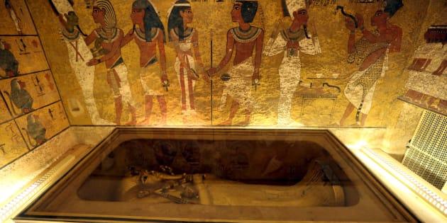 Finalement, il n'y a pas de chambre cachée dans le tombeau de Toutankhamon