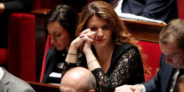 Marlène Schiappa salue la première condamnation pour outrage sexiste.
