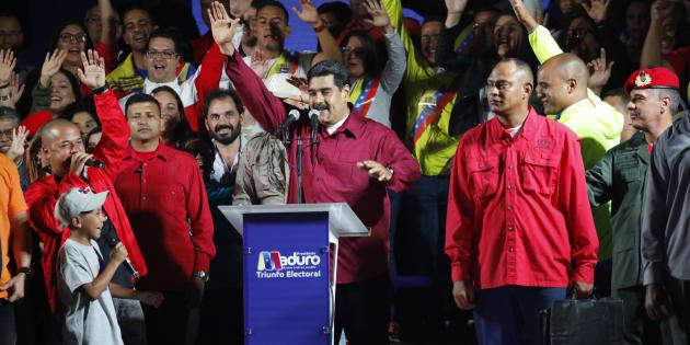 Nicolas Maduro a été déclaré gagnant de l'élection présidentielle par l'autorité électorale du Venezuela, dimanche soir.