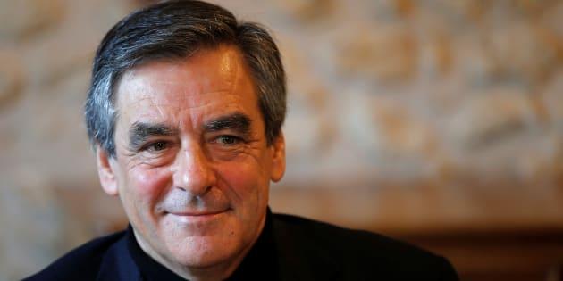 Francois Fillon, en visite à Chantenay-Villedieu, le 1er décembre.
