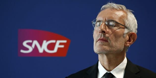 """Panne à Montparnasse: Guillaume Pepy, le patron de la SNCF exprime ses """"sincères regrets"""""""