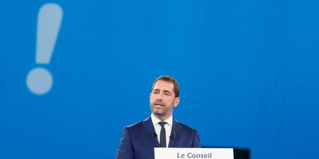 Le chef de file de La République En Marche, Christophe Castaner.