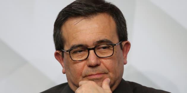 El secretario de Economía, Ildefonso Guajardo.