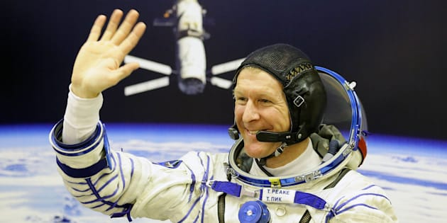 File photo dated 15/12/15 of British astronaut Tim Peake, who has been awarded an Order of St Michael and St George (CMG) in the Queen's Birthday Honours for services to space research and scientific education.