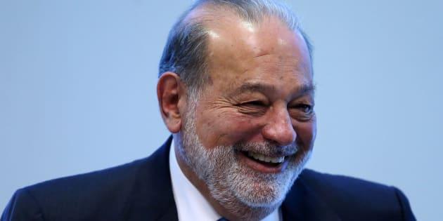 El multimillonario Carlos Slim.