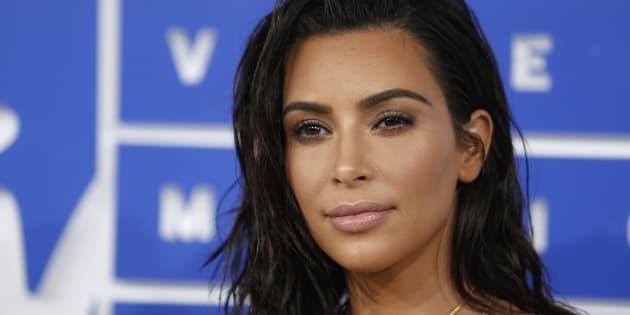 Kim Kardashian à New York le 28 août.