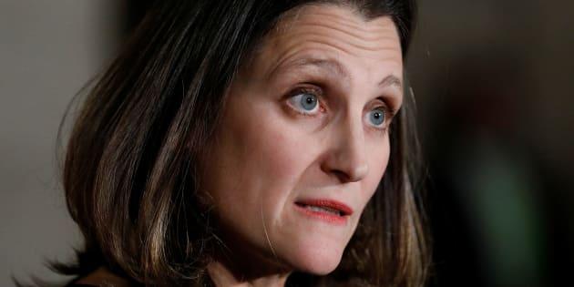 La ministre des Affaires étrangères du Canada, Chrystia Freeland avait ordonné une enquête après que le Globe and Mail eut rapporté, en juin dernier, que l'Arabie saoudite aurait utilisé pour réprimer la minorité chiite de l'est du pays des véhicules Gurkha construits en Ontario par Terradyne Armored Vehicles.