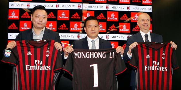 Cessione Milan, Yonghong Li (forse) allo scoperto: