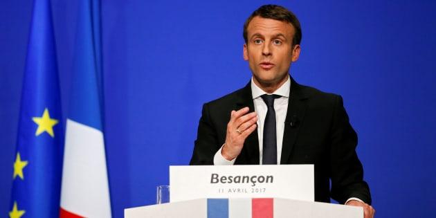 Seul Emmanuel Macron s'adresse à la France plurielle.