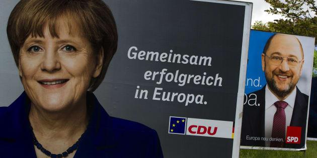La stratégie de caméléon de Merkel à l'épreuve de son débat télévisé face Martin Schulz