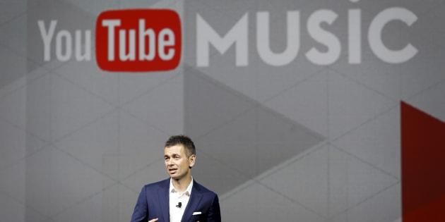 Robert Kyncl, chef des opérations d'affaires de YouTube.