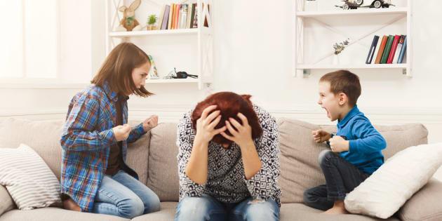 Les 5 sujets de querelle de mes enfants.