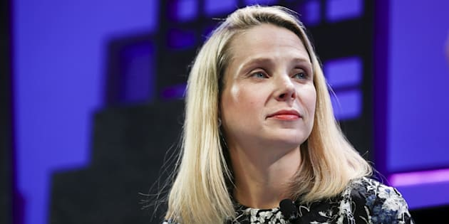 File photo of Marissa Mayer, President and CEO of Yahoo.