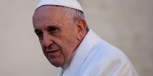 Le pape François au Vatican le 22 novembre.