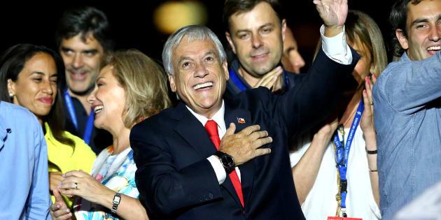 Le président Sebastián Piñera, après sa victoire.