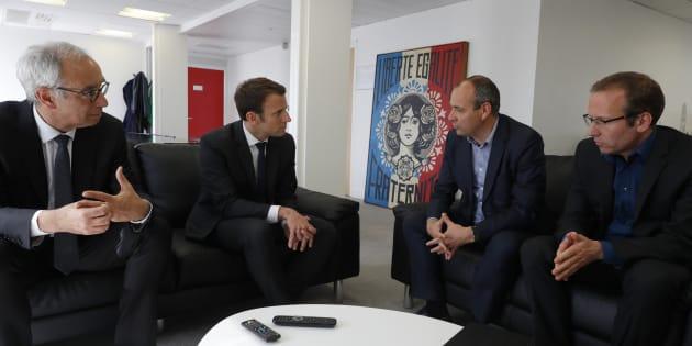 Emmanuel Macron se fait interpeller par ses proches économistes — Politique sociale
