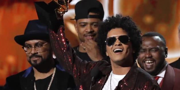 Bruno Mars roi des Grammy Awards 2018