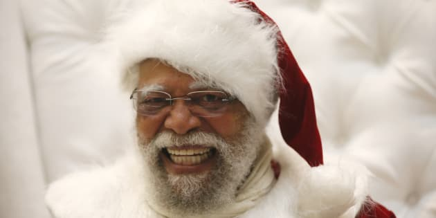 """""""A black Santa is an awesome break from tradition, and obviously serves to help children from different backgrounds feel more included in Christmas."""""""