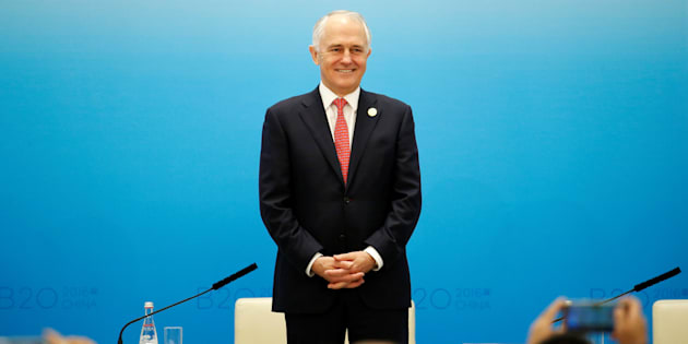 Donald Trump's press team have elevated Malcolm Turnbull to the position of Aussie President.