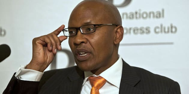 PRETORIA, SOUTH AFRICA - JULY 25: (SOUTH AFRICA OUT) Cabinet spokesperson Jimmy Manyi attends a press conference held at the National Press Club on July 25, 2011 in Pretoria, South Africa. (Photo by The Times/Gallo Images/Getty Images)