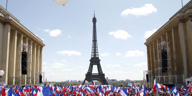Nicolas Sarkozy avait rassemblé des dizaines de milliers de personnes au Trocadero le 1er mai 2012.