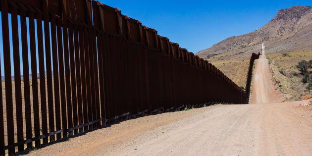 Frontera entre EU-México.