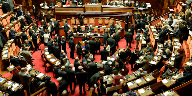 A general view of the Senate in Rome, Italy December 7, 2016. REUTERS/Remo Casilli