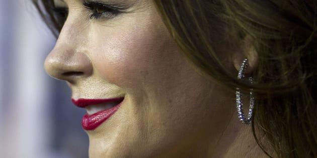 Catherine Zeta-Jones en febrero de 2015 en Nueva York.