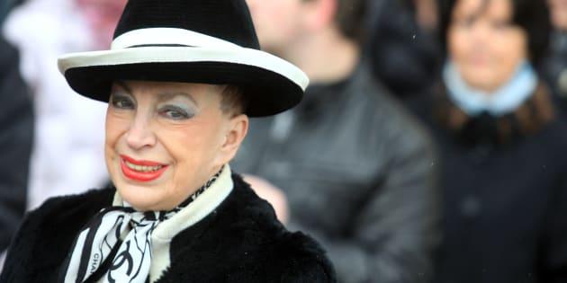 Genevieve de Fontenay en décembre 2009 à Caen.