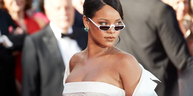 CANNES, FRANCE - MAY 19: Singer Rihanna attends the 'Okja' screening during the 70th annual Cannes Film Festival at Palais des Festivals on May 19, 2017 in Cannes, France. (Photo by Oleg Nikishin/Epsilon/Getty Images)
