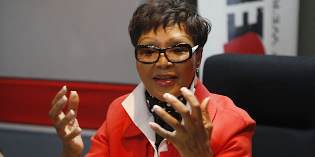 Media personality and former talk-show host Felicia Mabuza-Suttle.