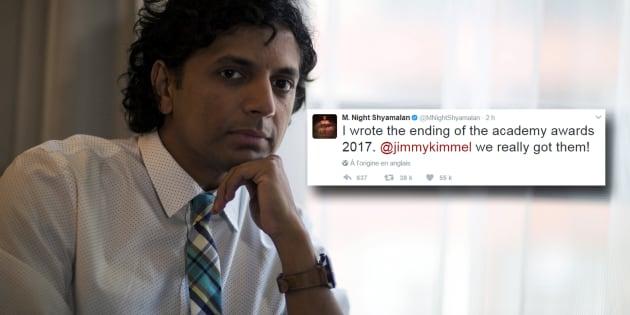 Night Shyamalan a trouvé le bon mot après l'erreur d'enveloppe des Oscars 2017.