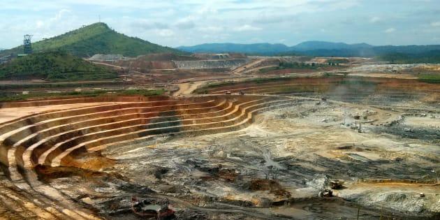 Une mine d'or en République démocratique du Congo. REUTERS/Pete Jones/File Photo
