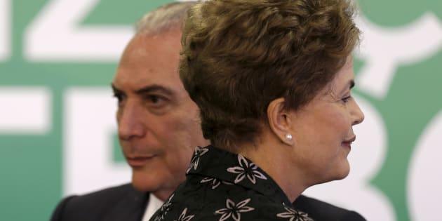 Michel Temer assumiu em 12 de maio de 2016 Palácio do Planalto após afastamento de Dilma Rousseff.