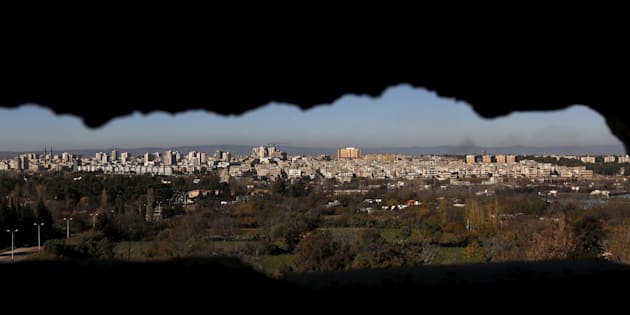 A general view the Syrian city of Homs, Syria December 8, 2015.