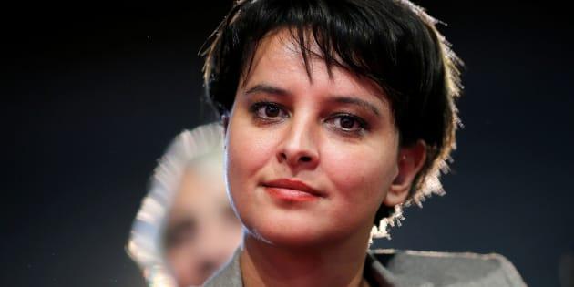 Najat Vallaud Belkacem au meeting de la Belle alliance populaire en décembre 2016.